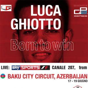 GP2 Luca Ghiotto @ Baku Circuit